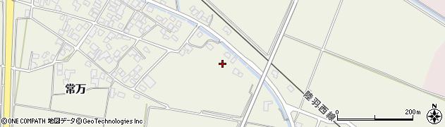 山形県東田川郡庄内町余目新田樋向周辺の地図