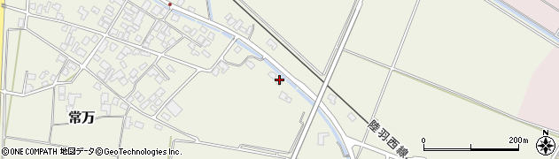 山形県東田川郡庄内町余目新田樋向31周辺の地図