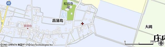 山形県東田川郡庄内町家根合菖蒲島5周辺の地図
