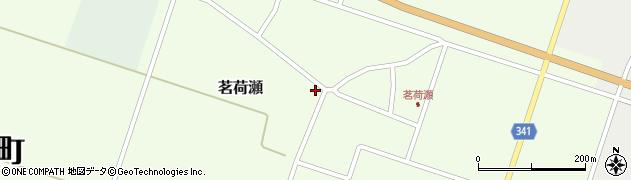 山形県東田川郡庄内町茗荷瀬岡田50周辺の地図