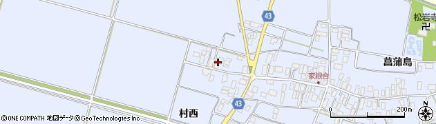 山形県東田川郡庄内町家根合菖蒲島178周辺の地図