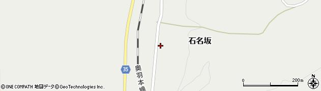 山形県最上郡鮭川村石名坂42周辺の地図