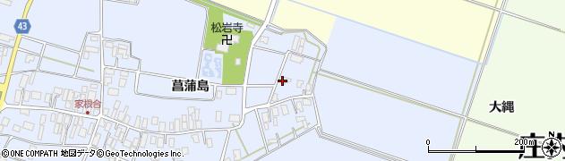山形県東田川郡庄内町家根合菖蒲島9周辺の地図