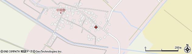 山形県東田川郡庄内町堀野周辺の地図