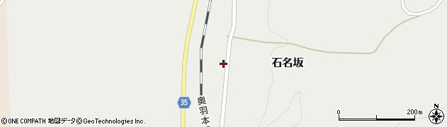 山形県最上郡鮭川村石名坂45周辺の地図