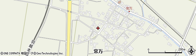 山形県東田川郡庄内町常万常岡61周辺の地図