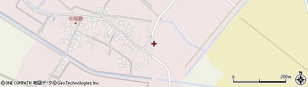 山形県東田川郡庄内町堀野中堀野17周辺の地図