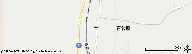 山形県最上郡鮭川村石名坂51周辺の地図