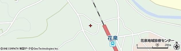 岩手県一関市花泉町花泉(深井沢)周辺の地図