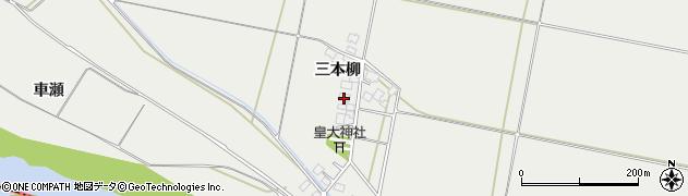 山形県酒田市広野三本柳159周辺の地図