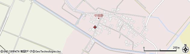 山形県東田川郡庄内町堀野中堀野90周辺の地図