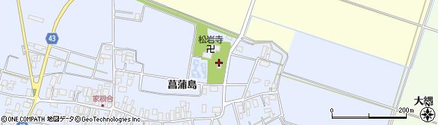 山形県東田川郡庄内町家根合菖蒲島72周辺の地図