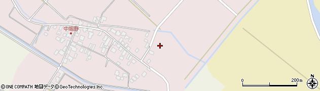 山形県東田川郡庄内町堀野中堀野14周辺の地図