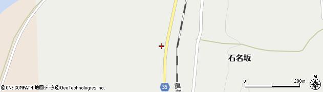 山形県最上郡鮭川村石名坂245周辺の地図