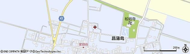 山形県東田川郡庄内町家根合北裏周辺の地図