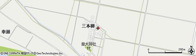 山形県酒田市広野三本柳68周辺の地図