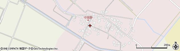 山形県東田川郡庄内町堀野中堀野72周辺の地図