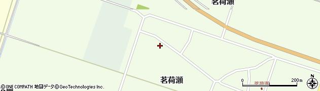 山形県東田川郡庄内町茗荷瀬岡田34周辺の地図