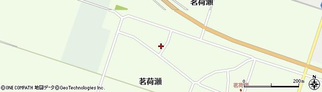 山形県東田川郡庄内町茗荷瀬岡田17周辺の地図
