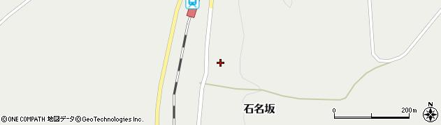 山形県最上郡鮭川村石名坂22周辺の地図