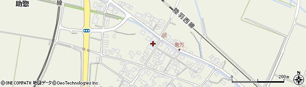 山形県東田川郡庄内町常万常岡周辺の地図