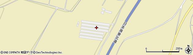 山形県酒田市浜中新林周辺の地図