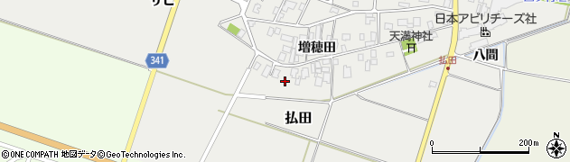 山形県東田川郡庄内町払田増穂田51周辺の地図