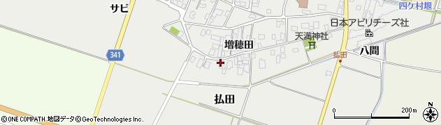 山形県東田川郡庄内町払田増穂田45周辺の地図