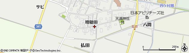 山形県東田川郡庄内町払田増穂田36周辺の地図