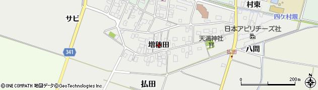 山形県東田川郡庄内町払田増穂田107周辺の地図