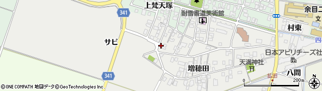 山形県東田川郡庄内町払田サビ83周辺の地図