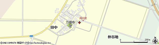 山形県東田川郡庄内町高田麦田中37周辺の地図