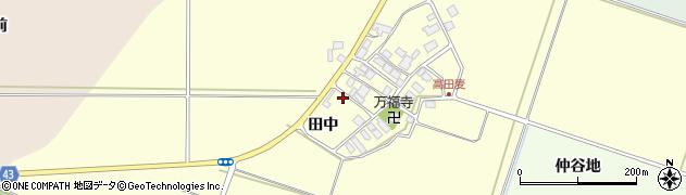 山形県東田川郡庄内町高田麦田中43周辺の地図