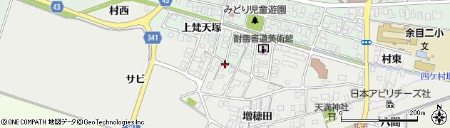 山形県東田川郡庄内町払田サビ72周辺の地図