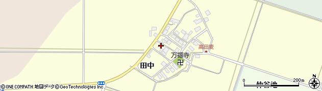 山形県東田川郡庄内町高田麦田中40周辺の地図