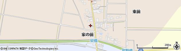 山形県東田川郡庄内町宮曽根宮の前7周辺の地図