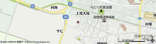 山形県東田川郡庄内町払田サビ91周辺の地図