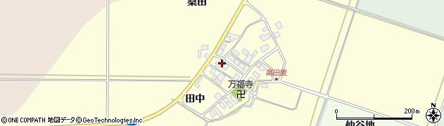 山形県東田川郡庄内町高田麦田中32周辺の地図