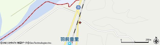 山形県最上郡鮭川村石名坂5周辺の地図