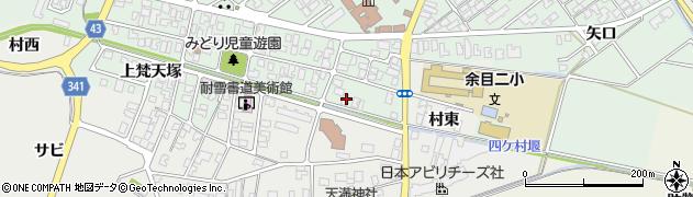 山形県東田川郡庄内町余目梵天塚53周辺の地図