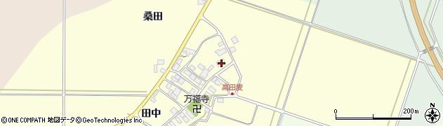 山形県東田川郡庄内町高田麦田中7周辺の地図