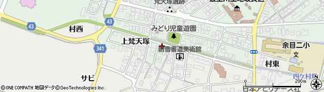 山形県東田川郡庄内町余目上梵天塚84周辺の地図