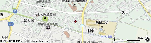 山形県東田川郡庄内町余目梵天塚29周辺の地図
