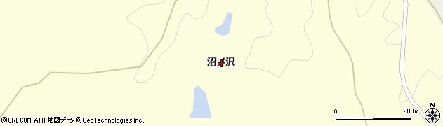 岩手県一関市花泉町老松沼ノ沢周辺の地図