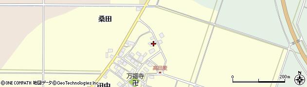 山形県東田川郡庄内町高田麦田中6周辺の地図
