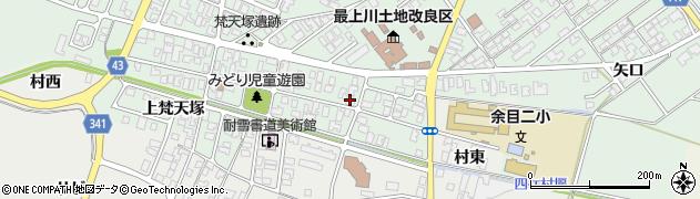 山形県東田川郡庄内町余目梵天塚60周辺の地図
