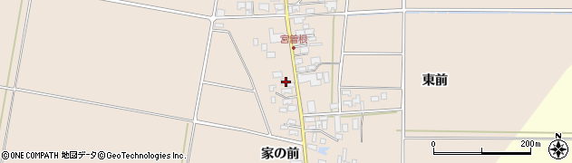 山形県東田川郡庄内町宮曽根宮の前22周辺の地図