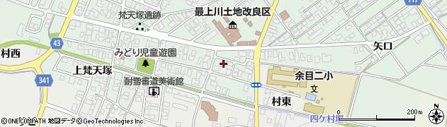 山形県東田川郡庄内町余目梵天塚33周辺の地図