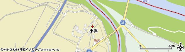 山形県酒田市浜中小浜81周辺の地図