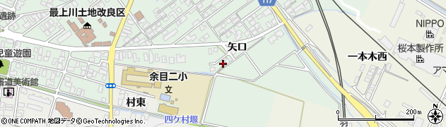 山形県東田川郡庄内町余目矢口61周辺の地図